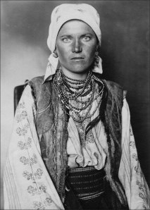 Ruthenian Woman at Ellis Island